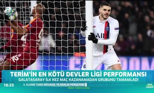 Fatih Terim'in en kötü Devler Ligi performansı