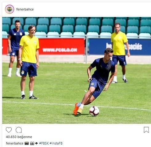 Fenerbahçe antrenmanı