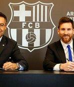 Barça'da kaldı