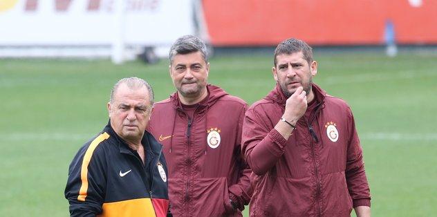 Galatasaray Teknik Direktörü Fatih Terim derbi planını hazırladı!