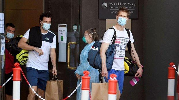Avustralya Açık öncesi 3 kişide corona virüsü tespit edildi #