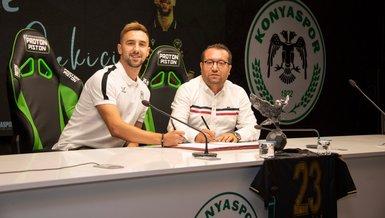 Son dakika transfer haberi: Endri Çekiçi Konyaspor'da! İşte sözleşme detayları