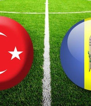 Türkiye Moldova maçı ne zaman hangi kanalda yayınlanacak? A Milli takımın ilk 11'i...