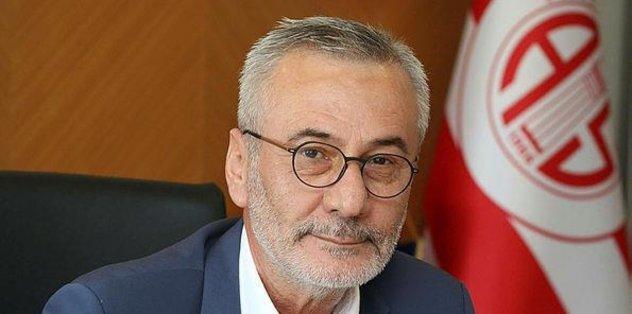 Antalyaspor Kulübü Başkanı Mustafa Yılmaz'dan Fenerbahçe maçı açıklaması - Son dakika Antalyaspor...
