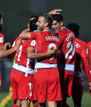 Granada formasıyla ilk golünü atan İsmail Köybaşı sakatlandı