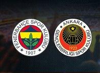 İşte Fenerbahçe-Gençlerbirliği mücadelesinin muhtemel 11'leri