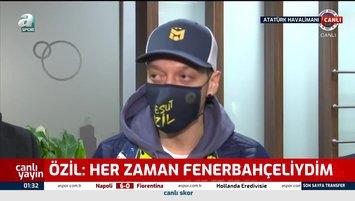 Mesut Özil'den İstanbul'da ilk röportaj