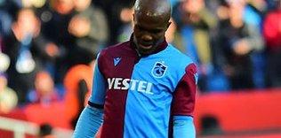 Trabzonspor'da sevindiren haber! Nwakaeme antrenmanda...