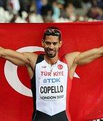 Yasmani Copello'nun hedefi altın madalya