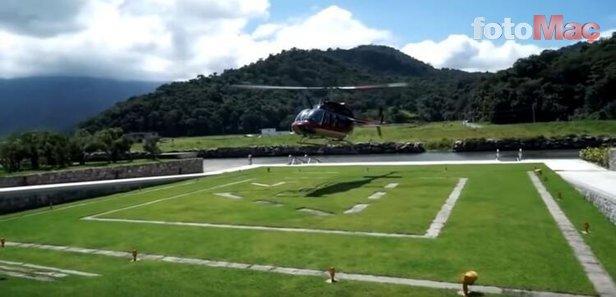 İşte Neymar'ın karantinada kaldığı 8 milyon Euro'luk o ev!