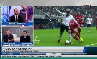 """""""Beşiktaş'ta mağlubiyete sevinen oyuncular var"""""""