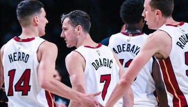 NBA'de Celtics'i yenen Heat play-off biletini kaptı