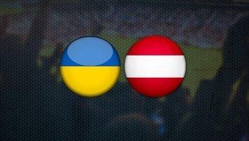 Ukrayna - Avusturya | CANLI