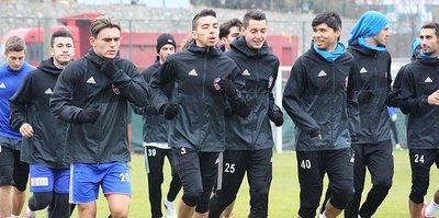 Karabükspor'da Trabzonspor mesaisini