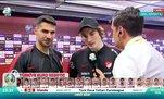 Milli yıldızların maç sonu açıklamaları