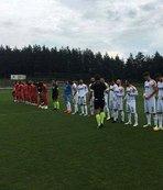 Süper Lig ekipleri hazırlık maçında karşılaştı