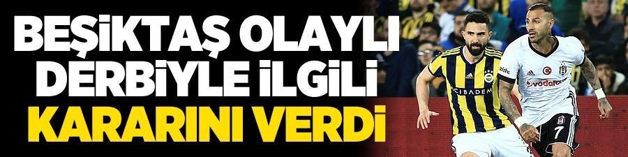 Beşiktaş, Fenerbahçe maçına çıkmayacak!