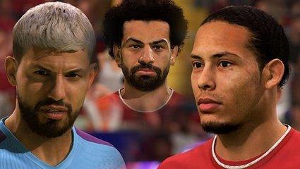 FIFA 21'de dünyaca ünlü futbolcuların yüzleri belli oldu! İşte Ronaldo Messi ve Salah...