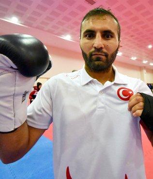 Şampiyon kick boksçunun hedefi dünya şampiyonluğu