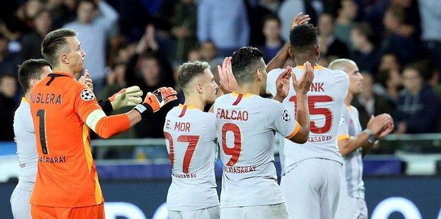 MAÇ SONUCU Club Brugge 0-0 Galatasaray MAÇ ÖZETİ