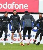 Beşiktaş'ta eksikler can sıkıyor! Göztepe hazırlıkları devam ediyor