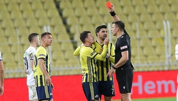 Fenerbahçe'den kırmızı kart açıklaması