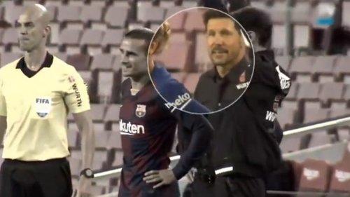 1593676428528 - İspanya'yı sallayan kare! Simeone'nin oyuncusuna olay tepkisi...