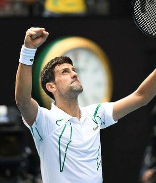 Son şampiyon Novak Djokovic Avustralya Açık'ta çeyrek finalde