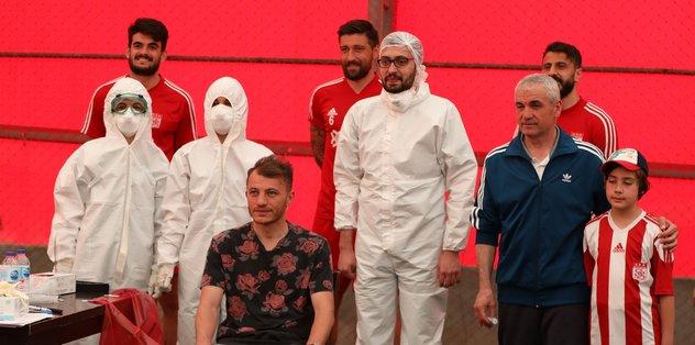 Sivasspor'da 3. kez corona virüsü testi yapıldı! - Futbol -