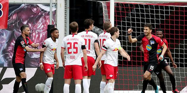 RB Leipzig 2-2 Hertha Berlin | MAÇ SONUCU