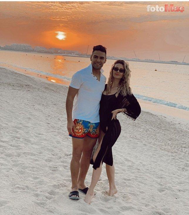 Türkiye'de yasak diye Dubai'ye gitti! Radamel Falcao...