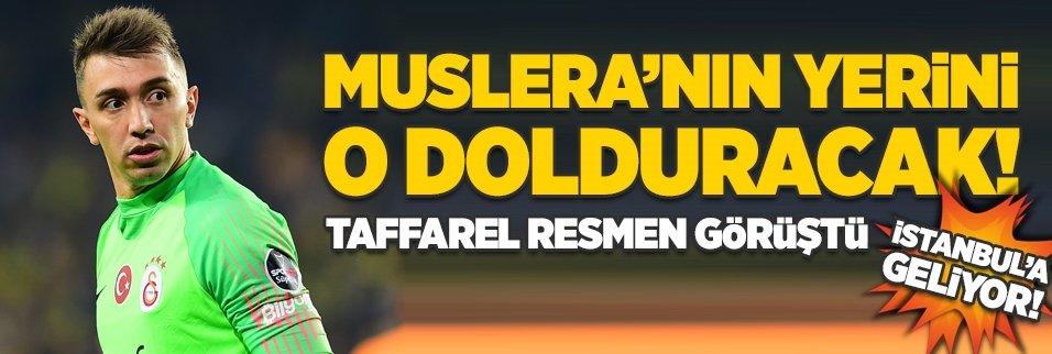 Muslera'nın yerini o dolduracak! Taffarel resmen görüştü İstanbul'a geliyor