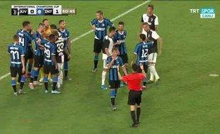 Juventus-Inter maçında gerginlik! Merih Demiral...