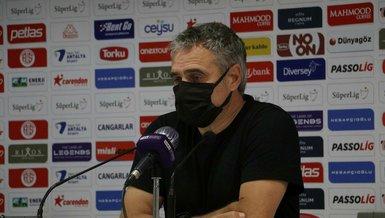 Antalyaspor Teknik Direktörü Ersun Yanal: Ligi sıkıntı yaşamadan bitirmeliyiz!