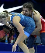 Dünya Güreş Şampiyonası'nda kadınlar 76 kiloda Yasemin Adar, gümüş madalya kazandı.
