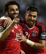 Mohamed Salah ve Trezeguet Dünya Kupası'nda
