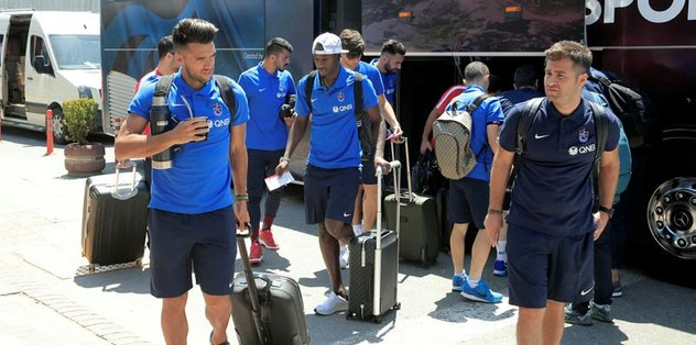 Trabzonspor, Macaristan'a ulaştı