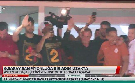 Galatasaray şampiyonluğa bir adım uzaklıkta