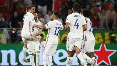 Son dakika spor haberi: Portekiz-Fransa maçı sonrası Fransızlarda sarı kart alarmı verildi | EURO 2020