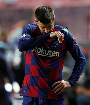 Barcelona'da Gerard Pique: Utanıyorum