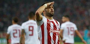 Olympiakos'u Valbuena sırtladı!