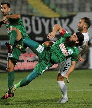 Giresunspor, deplasmanda Altay'ı 1-0 mağlup etti