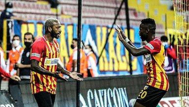 Kayserispor'un yıldızı Maneul Fernandes ilk kez oynadı