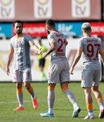 Galatasaray'dan farklı prova! Ümraniyespor'a gol yağdırdılar...