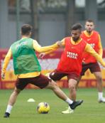 Galatasaray Başakşehir maçı hazırlıklarını sürdürdü