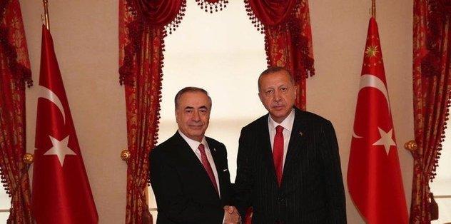Cumhurbaşkanı Recep Tayyip Erdoğan Mustafa Cengiz'i kabul etti