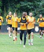 Galatasaray'da Emre Akbaba salonda çalıştı