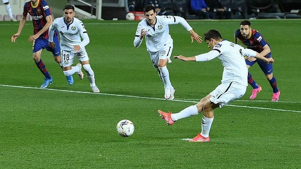 Barcelona - Getafe: 5-2 (MAÇ SONUCU - ÖZET) #