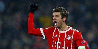 Müller Liverpool karşısında forma giyemeyecek