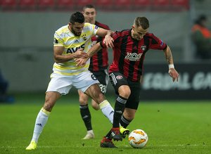 Spartak Trnava - Fenerbahçe maçından kareler